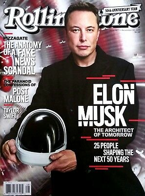 Rolling Stone Magazine Elon Musk Cover Taylor Swift Fake News Free Shipping New