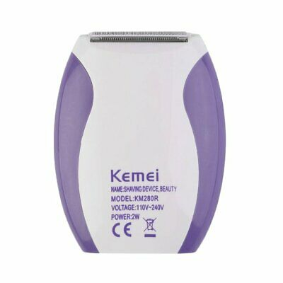 Women Lady Rechargeable Electric Skin Body Hair Removal Shaver Trimmer Cl C▩