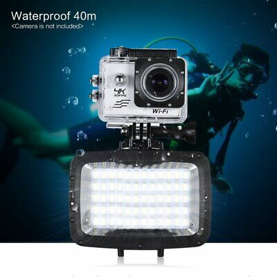 Andoer 60 LED Video Light Lamp Underwater Diving for GoPro Hero Action Cam  AY