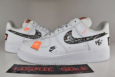 "34ae67a73464 NIKE AIR FORCE 1 Low ""Just Do It"" White Style   AR7719-100 Size 10.5 ..."