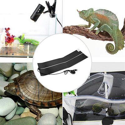 Adjustable Temperature Reptile Heater Mat Heating Pad For cold-blooded Pet KF