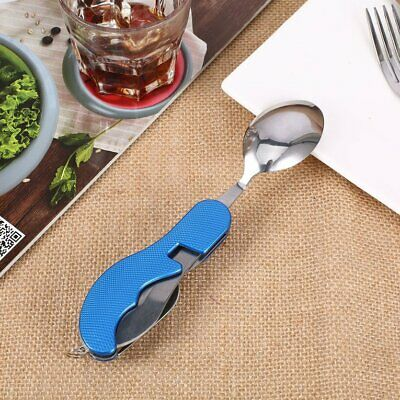 Outdoor camping supplies Multi-functional Spoon Fork knife tableware to C〡