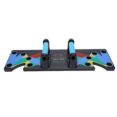 Push Up Rack Board 9 System Men Women Comprehensive Fitness Exercise Workout Pus