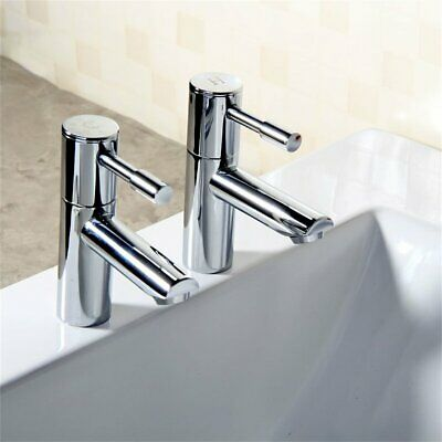 Deluxe Chrome Brass Bath Bathroom Kitchen Toilet Taps Faucet Basin Sink Mixer☼★
