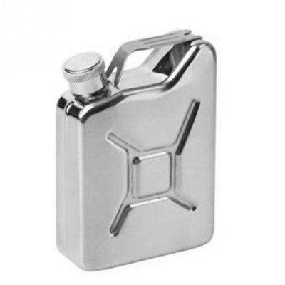 5 oz Jerrycan Oil Jerry Can Liquor Hip Flask Creative Stainless Steel Wine PotLQ