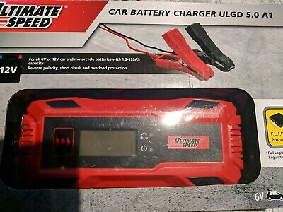 Ultimate Speed Car & Motorbike Battery Charger ULGD 5.0A A1 6V 12V