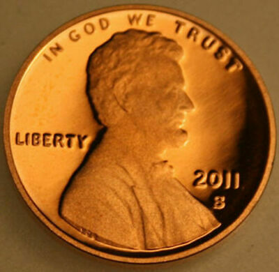 2011-S Lincoln Shield Cent Proof Red Penny
