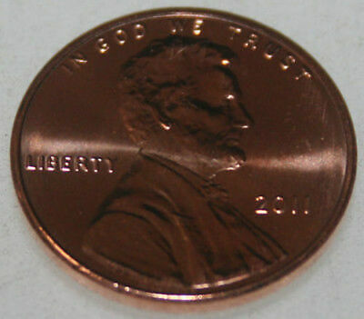 2011-P Lincoln Shield Cent Uncirculated BU Red Penny