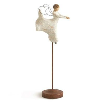 Tree Willow hand-painted sculpted angel,Dance of Life