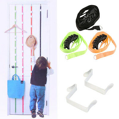 Over Door Hanging Lanyard Hanger Hat Handbag Coat Tidy Storage Organizer Hook SY