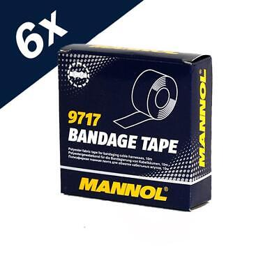 MANNOL Bandage Tape for Cables Electrical Connections 60m