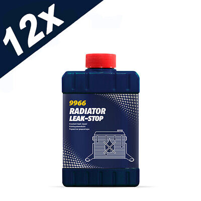 9966 12x 325ml Car Van Cooling System Radiator Leak Stop Seals Cracks Mannol