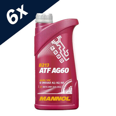 6L ATF AG60 TRANSMISSION OIL FOR 8/6/5 SPEED AUTOMATIC BMW Lifeguard 8