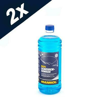5024 MANNOL 2 Litre WINTER WINDSCREEN CLEANER -70 °C SUPER CONCENTRATE