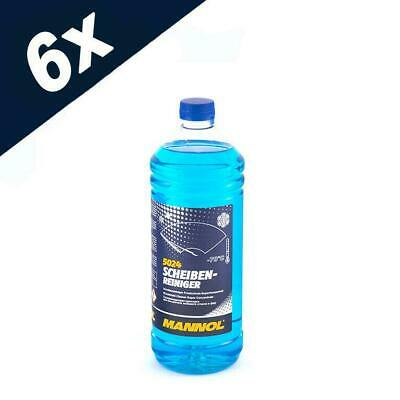 5024 MANNOL 6 Litre WINTER WINDSCREEN CLEANER -70 °C SUPER CONCENTRATE