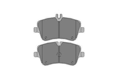 MERCEDES CLC350 CL203 3.5 Brake Pads Set Front 08 to 11 M272.960 QH 0044205120