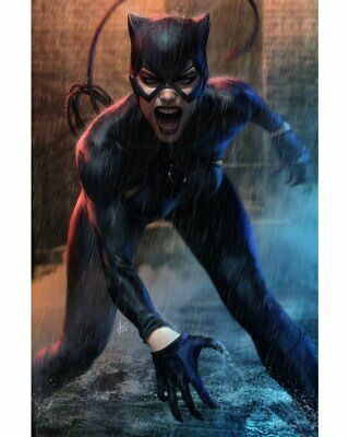 Catwoman# 11 Stanley Artgerm Variant Cover 5 8 2019