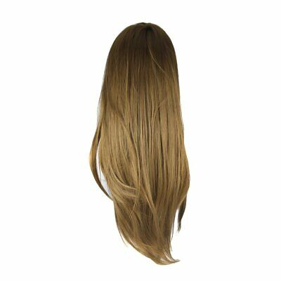 26 inch Brown Long Hair Dolls Heads Training Mannequin Makeup Pract Cヤ