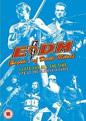 Eagles Of Death Metal: I Love You All The Time - Live At The... [DVD] -  CD B5LN