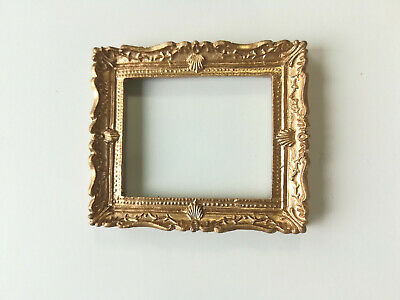 Dollhouse Miniature Picture Frame  #17  Painted Metal 1//12th Scale