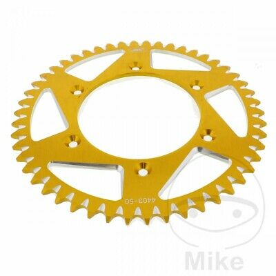 JMP Rear Sprocket 50T 520P Aluminium Gold