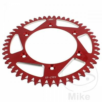 JMP Rear Sprocket 49T 520P Aluminium Red