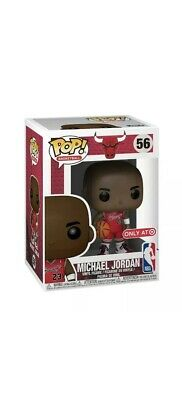NEW Funko POP! TARGET Exclusive NBA #56 MICHAEL JORDAN MJ Chicago Bulls