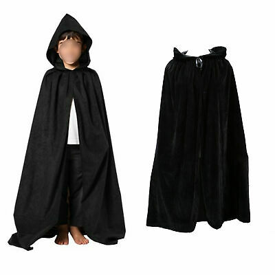 Fanng Unisex Full Length Christmas Cloak Hooded Cape Adult Cosplay Party Costume Cloak Silve