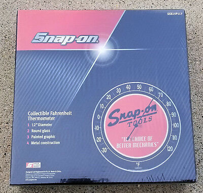 Snap-On Tools Dealer Promo Collectible Thermometer Vintage Style Ssx15P117 New