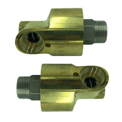 Industrial Copper Air Swivel Fitting Connectors Hose Tool Coupler - 1 inch