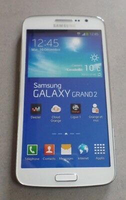 TELEPHONE *** FACTICE *** Smartphone SAMSUNG GALAXY Grand 2 / Blanc