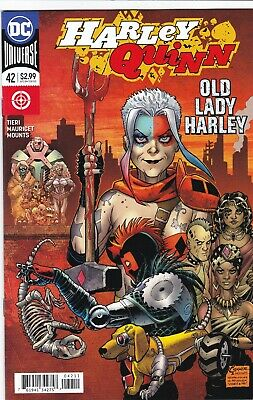HARLEY QUINN #42 NM+ (2018) 1st APPEARANCE OLD LADY HARLEY AMANDA CONNER DC 2018