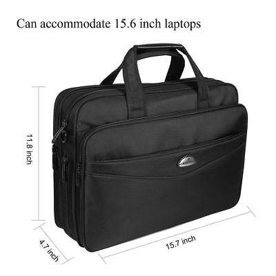 Briefcase 15.6 Inch Laptop Bag Laptop Messenger Bag, Stylish Nylon Multi-functio