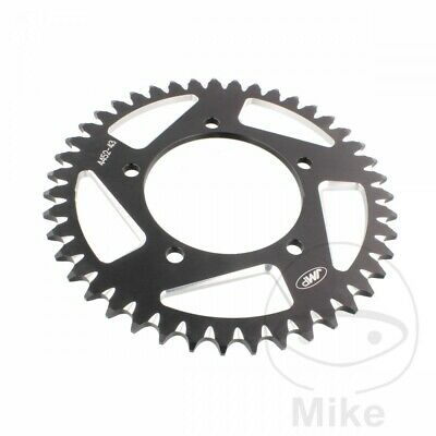 JMP Black Aluminium Rear Sprocket (43 Teeth) Aprilia RSV 1000 Mille 1998