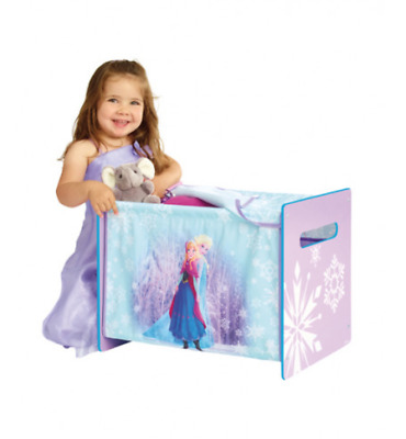 Disney Frozen Cosytime Cosy Time Toy Box Chest Storage Childrens Kids Boxes New