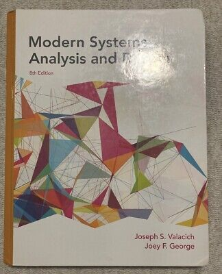 Modern Systems Analysis and Design, Hardcover by Valacich, Joseph S.; George,...