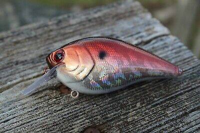 CUSTOM PAINTED 2 5 Square bill, crankbait, lures, fishing, bass, tackle