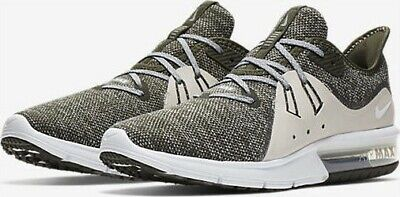 5ad8165e78db3 Mens Nike Air Max Sequent 3 Running Shoes 921694 300 Sequoia Summit White