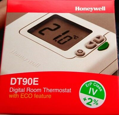Thermostat ambiance électronique - HONEYWELL dt 90e 1012 à piles - HONEYWELL SP