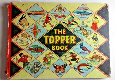 The Topper Book 1958-  good condition inside- damaged spine Beano/Dandy