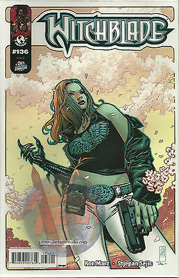 WITCHBLADE #136 Washington DC 2010 COMIC-CON Limited Variant TOP COW