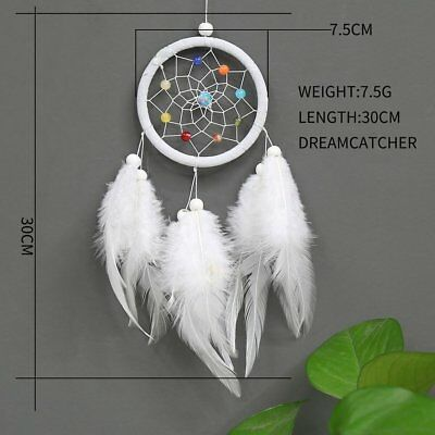 Dream Catcher Home Accessories Feather Pendant Decor Ornament Circular Oc-2008UE