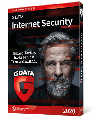G DATA Internet Security 3 PC 2019 VOLLVERSION GDATA Upgrade 2018 EMAIL