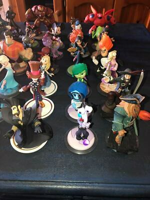 Assorted Disney Infinity figures, loose, Boxed, playsets etc