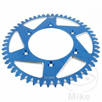 JMP Blue Aluminium Rear Sprocket (52 Teeth) KTM Adventure 640 R 2000