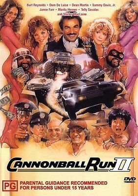 The Cannonball Run 2 - Burt Reynolds - New Dvd