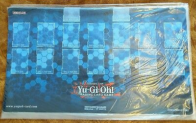 YCS London 2017 Playmat in Blue with Yu-Gi-Oh! Zones - Sealed Game Mat