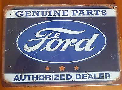 Ford Genuine Parts Metal Tin Signs Bar Shed & Man Cave Signs AU Seller