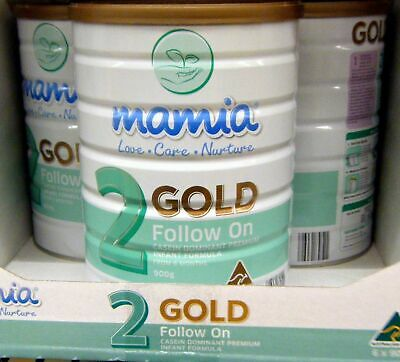 Mamia Australian Baby Formula Stage 2 Gold Infant 6-12 Months New Factory Sealed