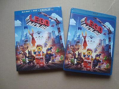 THE LEGO MOVIE 2 disc combo set DVD & BLU-RAY with LIMITED slipcover Chris Pratt